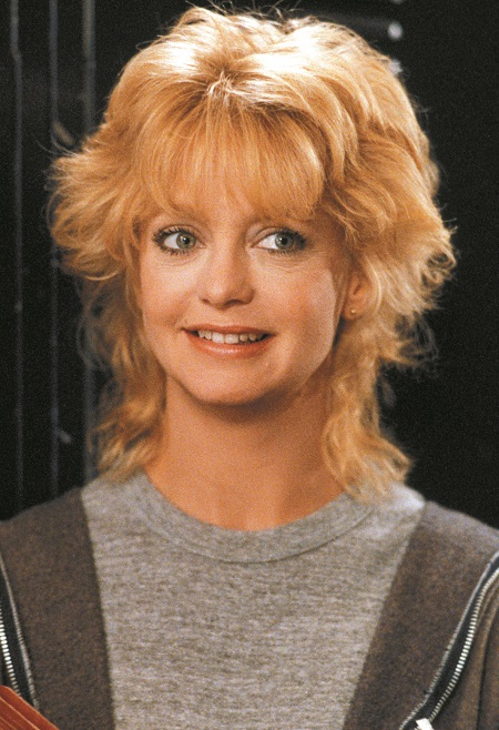 Goldie Hawn in the movie 'Wildcats' in 1986.