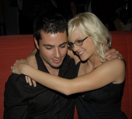 Anna Faris (right) and ex-husband Ben Indra during Scary Movie 3 Los Angeles Premiere - After Party at The W Hotel in Westwood, California, United States.