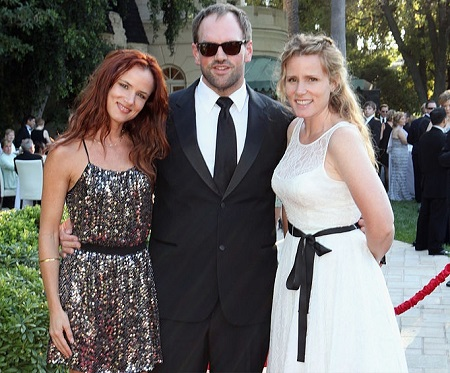 Actress/musician Juliette Lewis, actor Ethan Suplee and Brandy Lewis attend the Church of Scientology Celebrity Centre 42nd Anniversary Gala held at the Church of Scientology Celebrity Centre on August 6, 2011 in Hollywood, California.