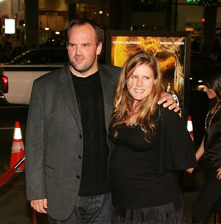 "Actor Ethan Suplee (L) and his wife Brandy arrive at the US Premiere and Centerpiece Gala of ""The Fountain"" during AFI FEST 2006 presented by Audi held at the Grauman's Chinese Theatre November 11, 2006 in Hollywood, California."