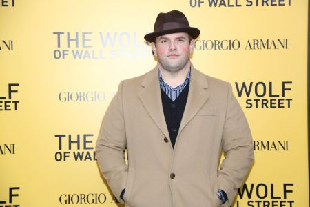 Ethan Suplee in the premiere of The Wolf of Wall Street.