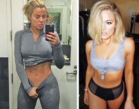 Khloe Kardashian underwent a strict diet and fitness plan.