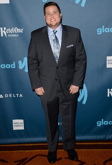 Chaz Bono at the GLAAD Media Awards.