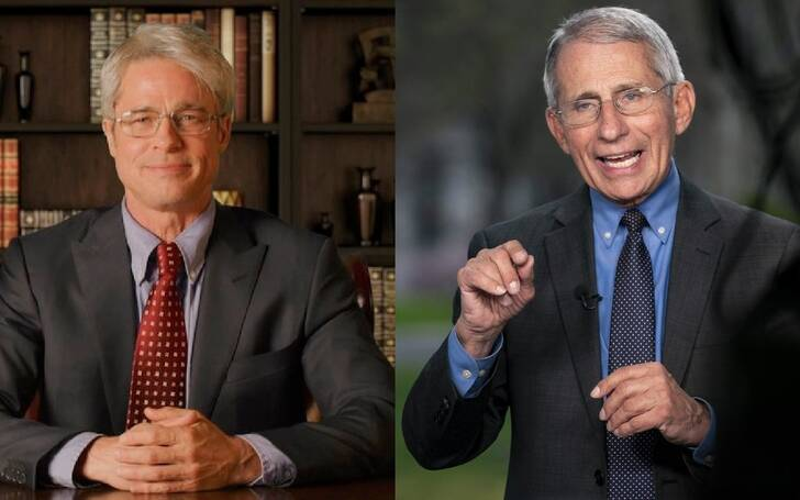 Dr. Fauci Praises Brad Pitt's Portrayal of Him on Saturday Night Live