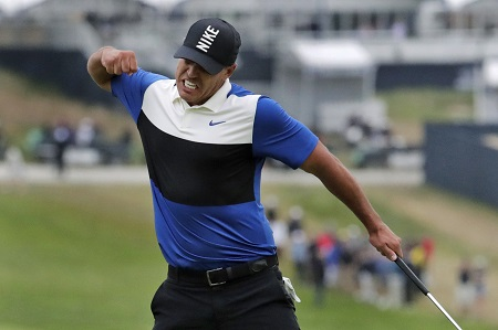 Brooks Koepka lost 24 pounds in four months.
