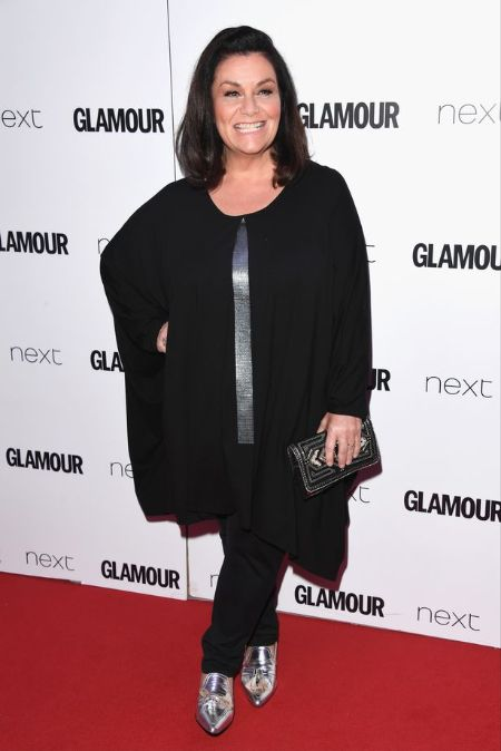 Dawn French started becoming conscious about her diet.