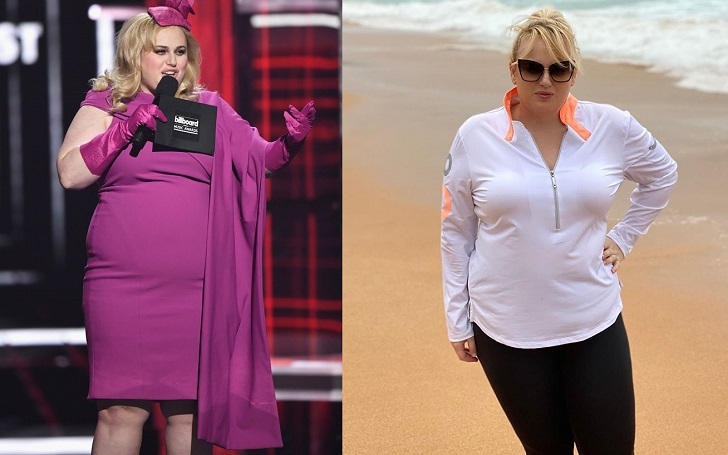 Rebel Wilson Weight Loss Timeline — The Pandemic Ain't Stopping Her 2020 Fitness Goals