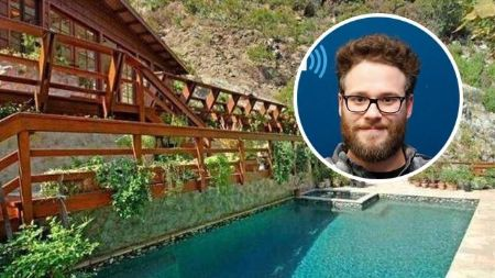 Seth Rogen also owns a $8 million-worth house in the Nichols Canyon area of the Hollywood Hills, Los Angeles.