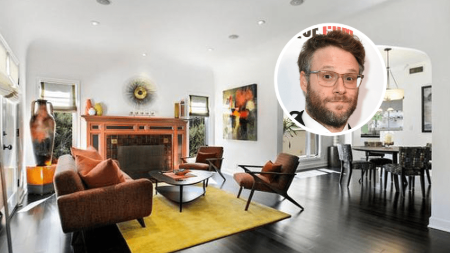 Seth Rogen sold his Spanish Revival-style Cottage house for $1.9 million.