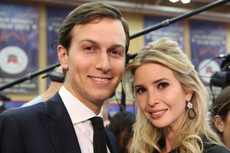 Jared Kushner's picture with wife Ivanka Trump.
