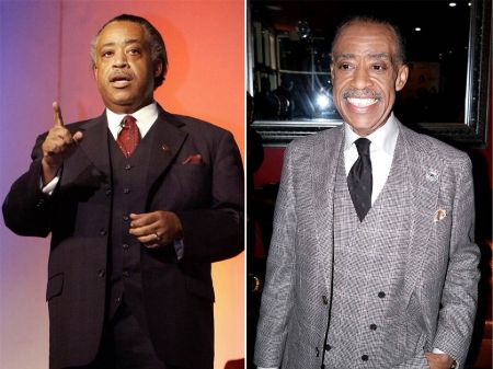 AI Sharpton went from 305 pounds to 130 pounds over the years.