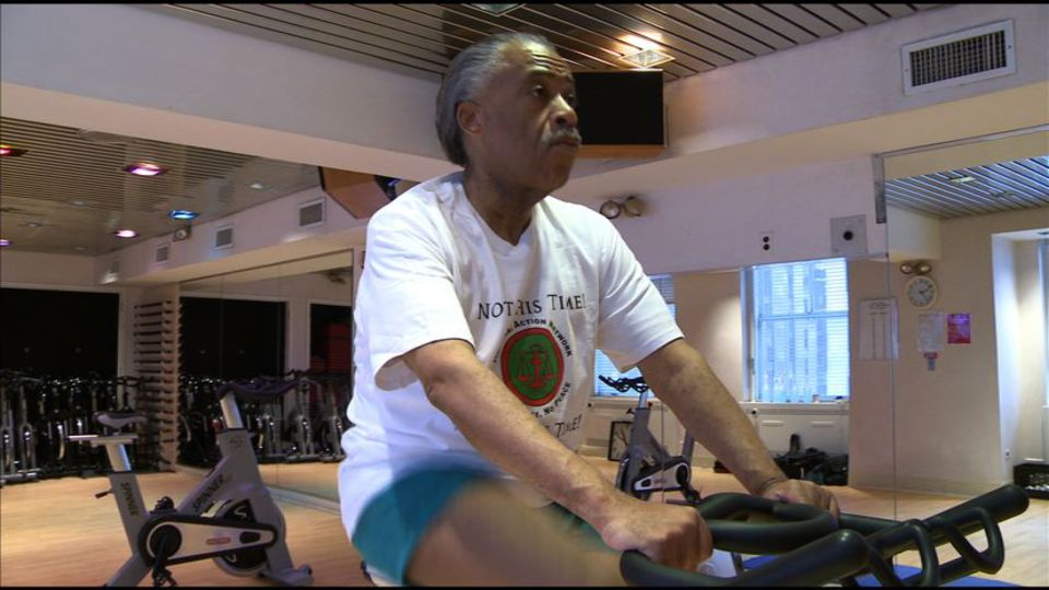 AI Sharpton has been working out daily in recent years.