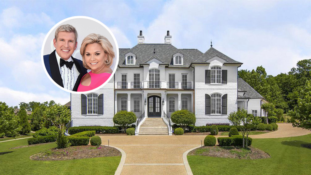 Todd Chrisley put his $3.4 million Tennessee mansion for $4.7 million.