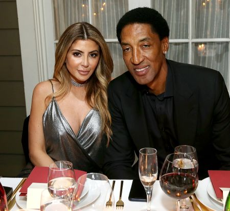 Scottie Pippen's second wife was Larsa Younan.