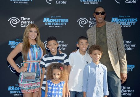 Scottie Pippen and Larsa Pippen share four children in total.