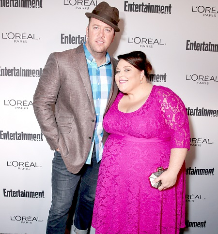 Chris Sullivan and Chrissy Metz attend the 2016 'Entertainment Weekly' Pre-Emmy party at Nightingale Plaza on Sept. 16, 2016, in Los Angeles.