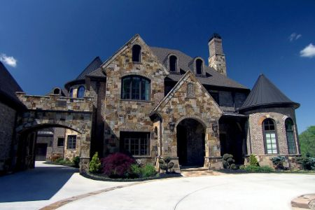 Kim Zolciak's new house at Atlanta.