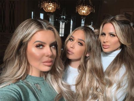 Ariana, Kim and Brielle with lip injections.