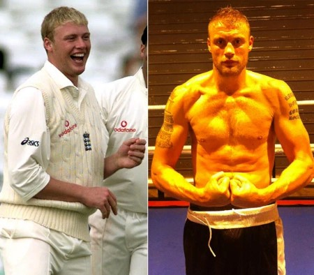 andrew freddie flintoff weight loss: before and after.