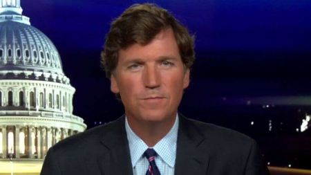 There are rumors in recent weeks of Tucker Carlson's weight loss.