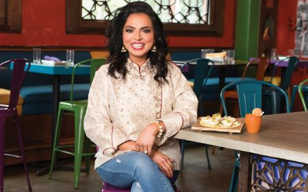 Maneet Chauhan graduated from Manipal University's WelcomGroup Graduate School of Hotel Administration.