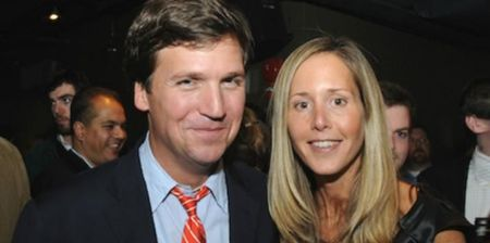 Tucker Carlson is currently married to Susan Carlson (née Andrews).