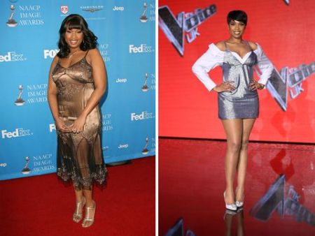 Jennifer Hudson is also careful of what she eats for maintaining weight.