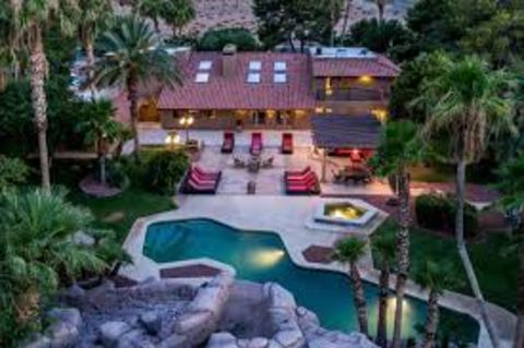 Chumlee's million-dollar mansion in Las Vegas.