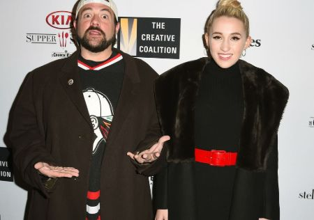 Kevin Smith named his daughter Harley Quinn Smith from he 'Batman' comics.