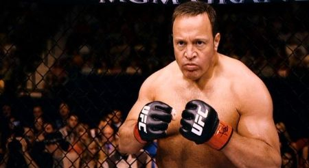 Kevin James portraying the role of Scott Voss, a biology teacher turned MMA fighter.