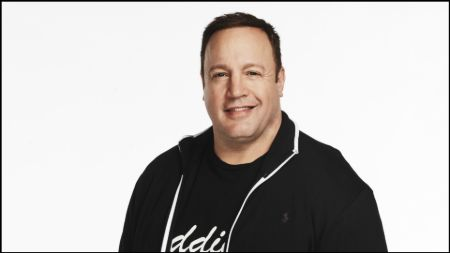 Kevin James was the grand marshal for the Pepsi 400 promoting the comedy film 'I Now Pronounce You Chuck & Larry.'