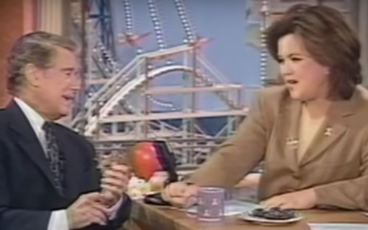 Rosie O'Donnell Pays Tribute to Regis Philbin With a Throwback Clip