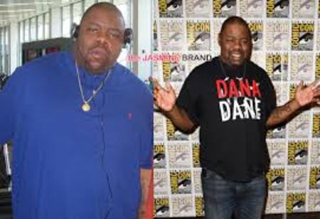 Biz Markie's before and after weight loss pictures.