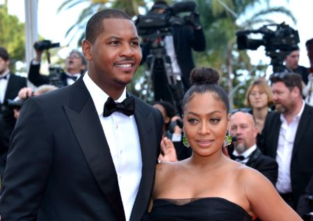 Carmelo Anthony is currently married to his wife Alani 'La La' Vazquez.