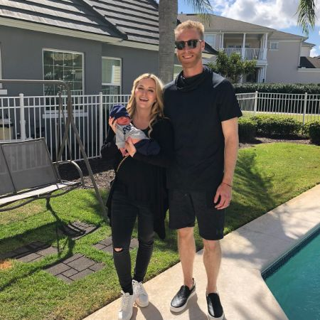 Mike Foltynewicz is currently married to his wife, Brittany Wortmann.