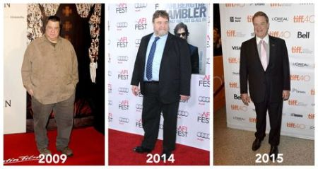 John Goodman's unhealthy eating habit was the major factor of his obesity.