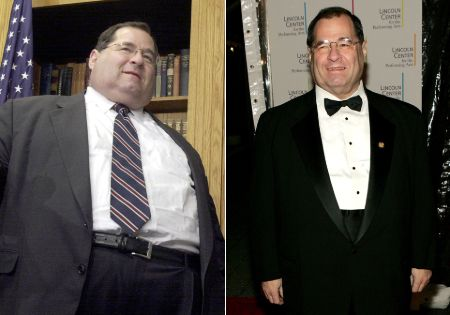 Jerry Nadler weighed 338 pounds before he underwent stomach-reduction surgery to lose weight.
