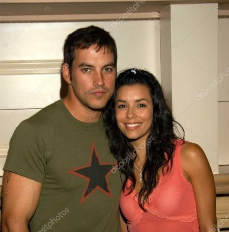 Eva Longoria was married to Tyler Christopher from 2002 to 2004.