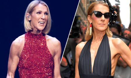 Celine Dion's been losing weight in recent years.