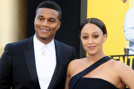 Tia Mowry is currently married to her husband, actor Cory Hardrict.