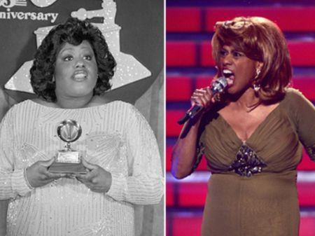 Jennifer Holliday lost 124 pounds through gastric bypass surgery.