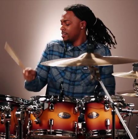 Devon Taylor began playing drums at the age of 2.