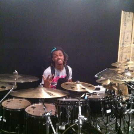 Devon Taylor started playing drums at the age of 2.