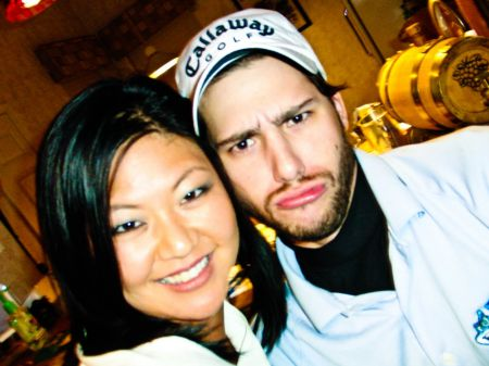 Christina Kim is currently dating her boyfriend and occasional caddie, Duncan French.