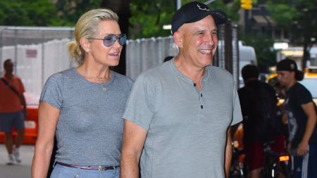Joseph Jingoli caught on camera with girlfriend Yolanda Hadid.