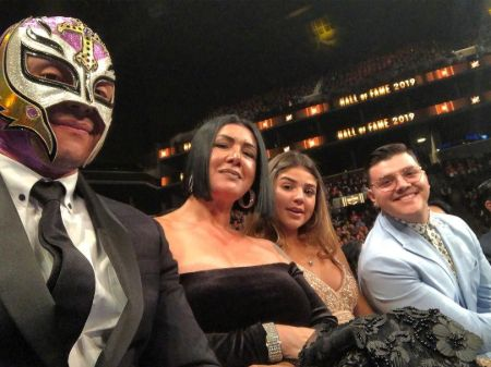 Rey Mysterio has two kids: son Dominic and daughter Aalyah.
