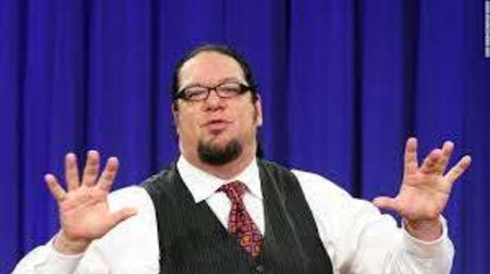 Penn Jillette caught on the camera.