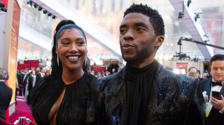 Taylor Simone Chadwick and Chadwick Boseman kept their relationship secret for the most part.