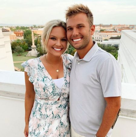 Chase Chrisley is in a relationship with Emmy Medders in 2021.
