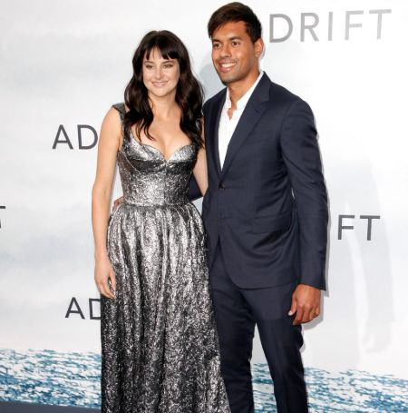 Shailene Woodley used to date the well-known rugby player Ben Volavola.